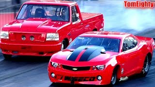 Street Outlaws Ryan Martin vs Ford Lightning