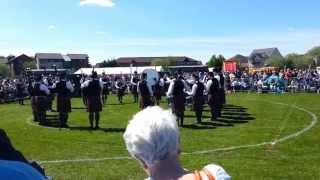Police Service Northern Ireland Pipe Band - British Championships 2013