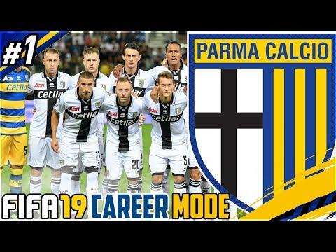 FIFA 19 PARMA CAREER MODE RTG #1  - REBUILDING PARMA!!!