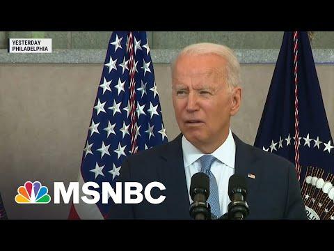 President Biden Implores Congress To Counter Republican Voting Laws