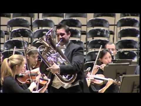 David Childs - Karl Jenkins Euphonium Concerto Part I: The Juggler