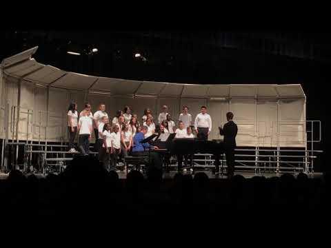 "Jardine Middle School Mixed Choir ""O Salutaris Hostia"""
