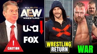 AEW on FOX/USA Network🤨? CM Punk Return for Ratings? War Against WWE, Zack Ryder Shots, Vince Crazy