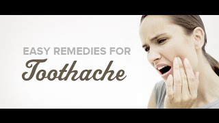 Home remedy for toothache, bad breath and white teeth