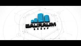 Bauraum logo intro 2