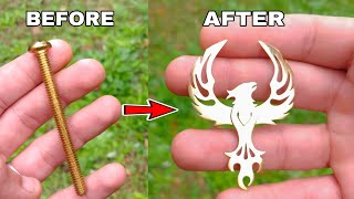 Watch a Single Bolt Turn into A Phoenix! (Basic Tools)