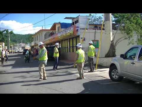 AEP crew from Oklahoma restoring power in Puerto Rico
