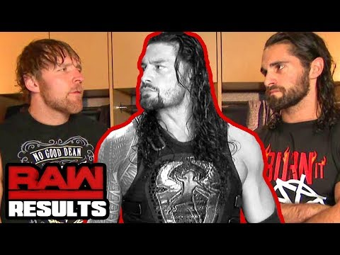 SHIELD REUNITE: WHAT NOW? WWE Raw Review 10/2/17 Going in Raw Pro Wrestling Podcast 294