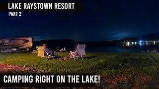 Best RV Campsite Ever? // Ląke Raystown Resort in PA