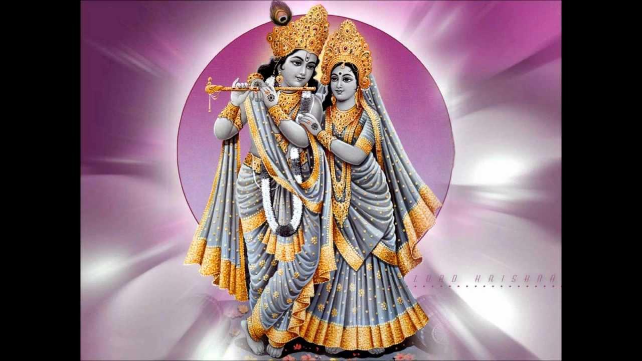 Krishna And Radha Hd Wallpaper Thozhunnen Krishna Madhu Balakrishnan Guruvayoorappan