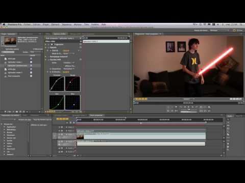 How to make realistic lightsaber in Adobe Premiere pro without photoshop!