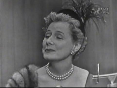 Whats My Line  Irene Dunne Feb 1 1953  YouTube
