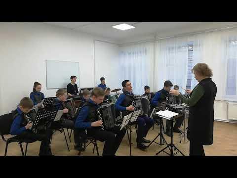 """Оркестр баянистов-аккордеонистов """"Тальяночка"""". Путешествие в страну мультиков"""