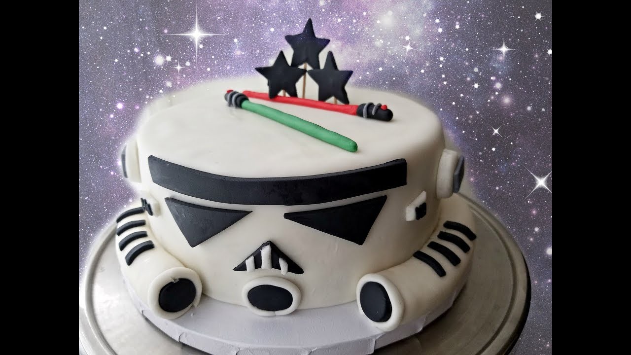Easy Storm Trooper Cake