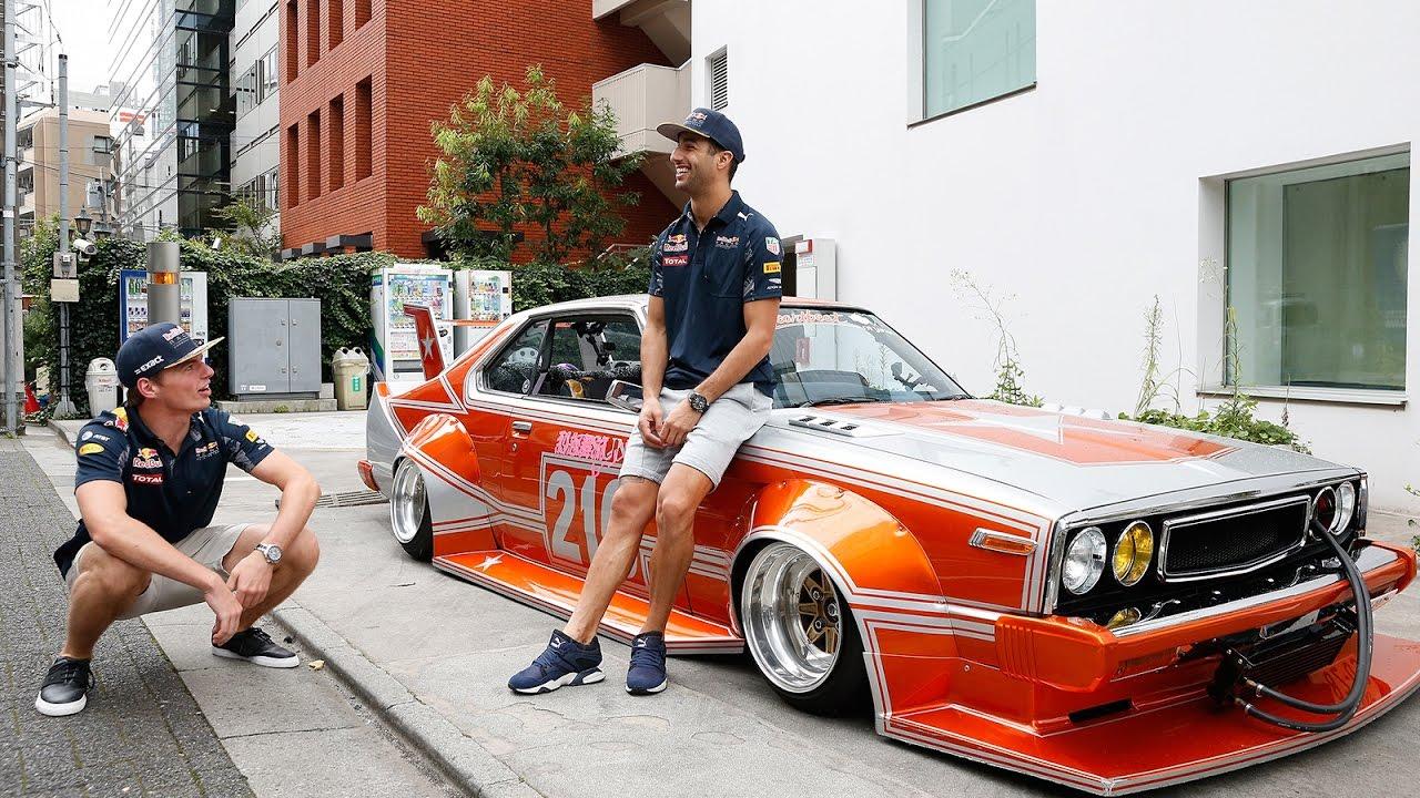 Daniel Ricciardo Max Verstappen And The Kaido Racer Youtube