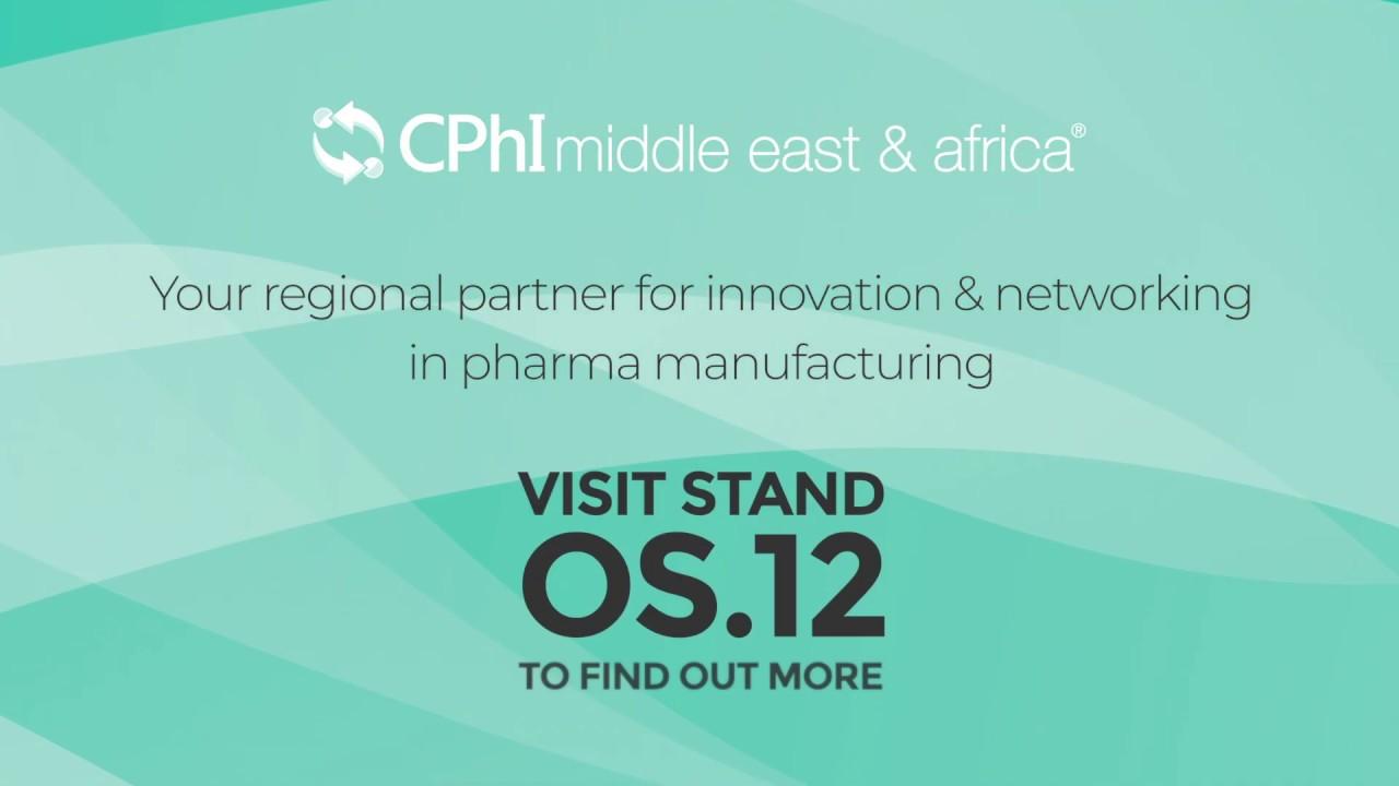 Visit CPHI stand at Arab Health TV 2019
