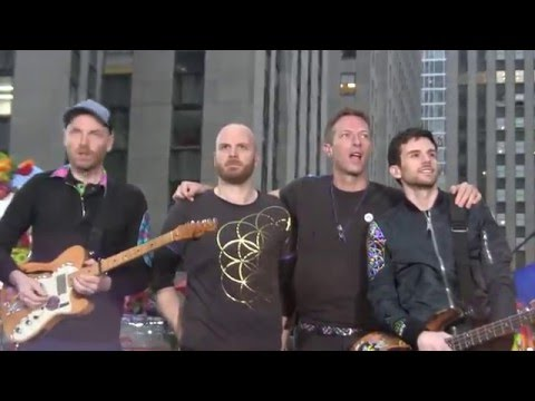 """COLDPLAY - """"Adventure Of A Lifetime"""" - Live in New York City - TODAY Show - March 14, 2016 [HD][HQ]"""