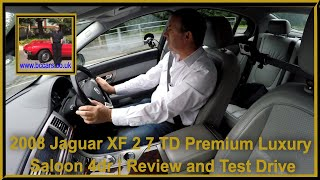 Review and Virtual Test Drive In Our Jaguar XF 2 7 TD Premium Luxury Saloon 4dr