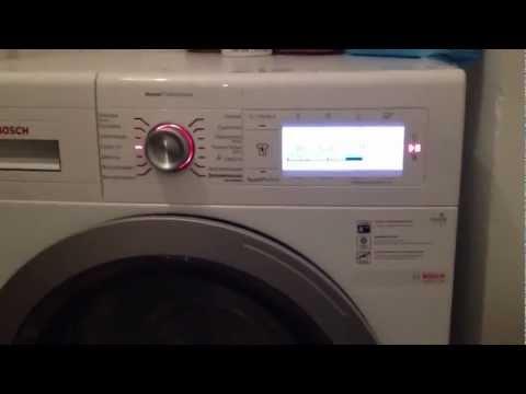 Обзор стиральная машина: Bosch WAY 24740 OE home professional