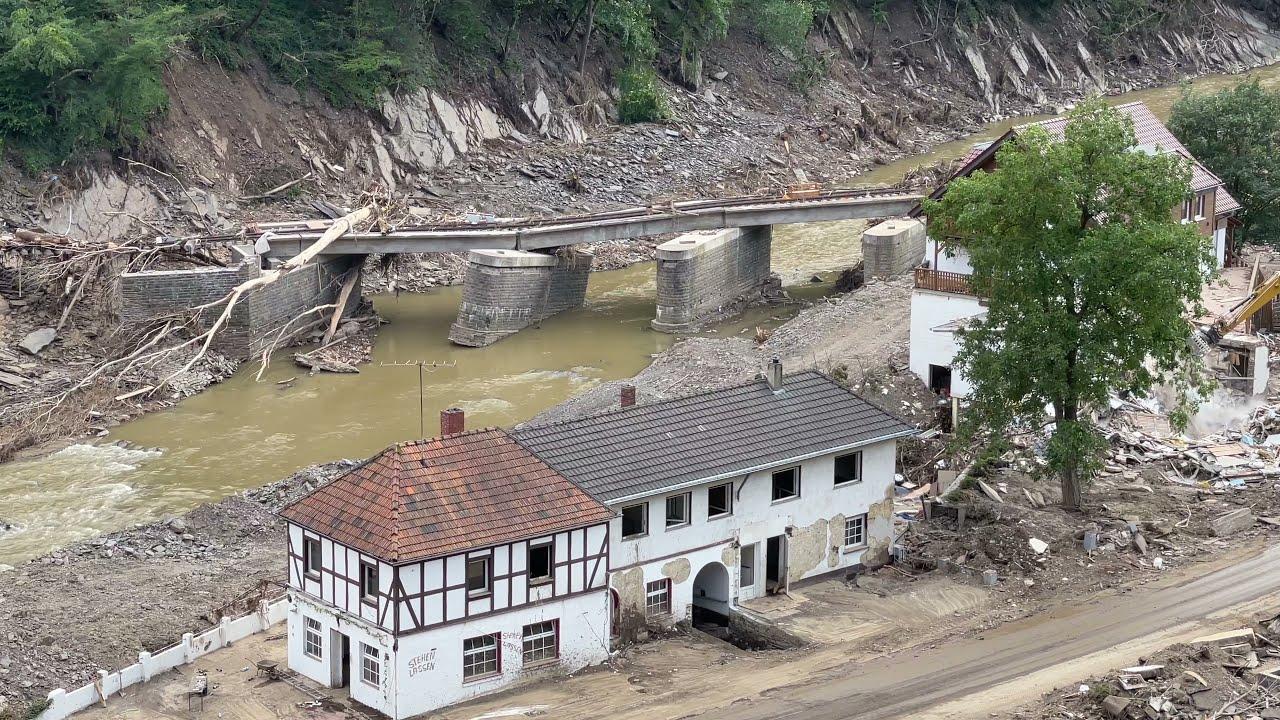 Flutkatastrophe Ahr:  Update- Marienthal, 29.07.21 Teil 13