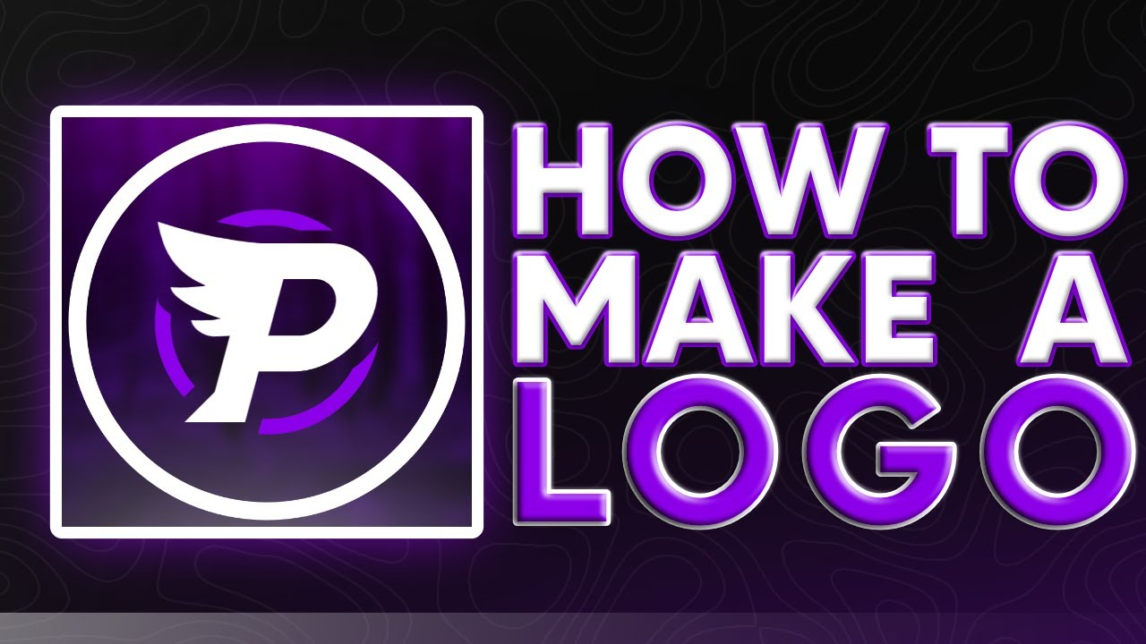 HOW TO MAKE A GAMING LOGO | AFFINITY PHOTO / PHOTOSHOP TUTORIAL (2021)