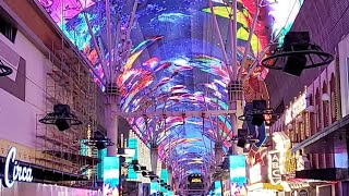 Fremont street Nightlife July 2020