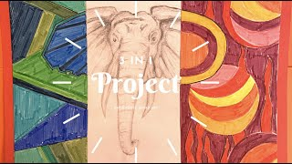 3 in 1 Project | Middles & High School