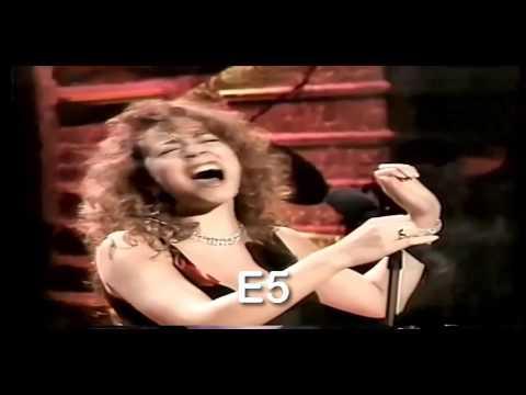 SoHyang vs Divas Mariah Whitney Celine High notes