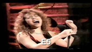 SoHyang vs Divas Mariah, Whitney, Celine High notes