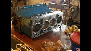 Ремонт двигателя МТЗ.  Часть-1.