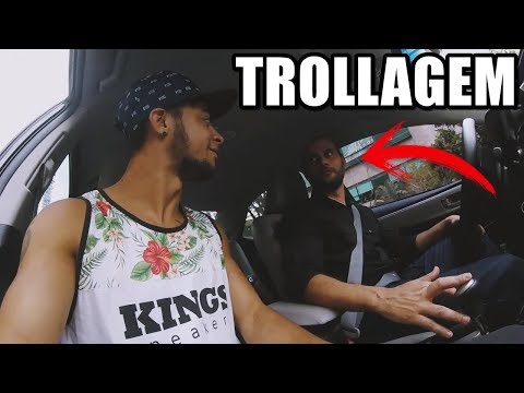 IRRITANDO O MOTORISTA DO UBER