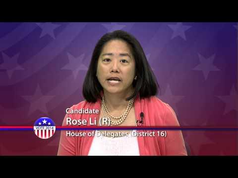 Rose Li (R) Candidate for Maryland House of Delegates District 16