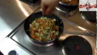 Свинина с соусом терияки на рисовой подушке от Fommi-Foods.com