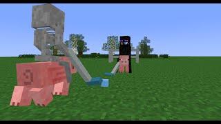 Monster School: Pig Polo (Minecraft Animation)