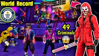 World Record 49 Criminals in Same Lobby🤯😵🔥ओ भाईसाब Rarest Moment !!