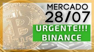ATENÇÃO: MUDANÇAS NA BINANCE!!! / Bitcoin em rally nos 40.000 USD