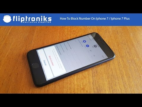How To Block Number On Iphone Iphone Plus