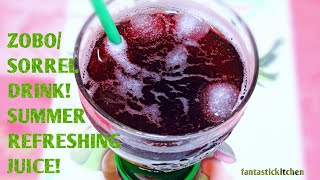 How to make zobo drink | Summer refreshing zobo/sorrel drink, no sugar! | very easy!