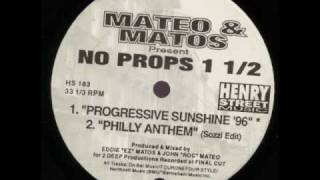 Mateo & Matos - Philly Anthem (Sozzi Edit)