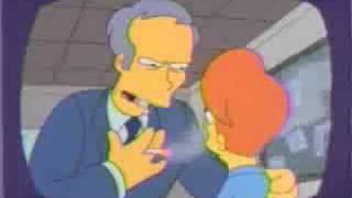 Simpsons Clint Eastwood Parody