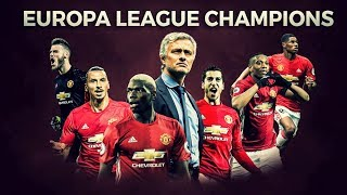 Manchester United - Europa League Champions
