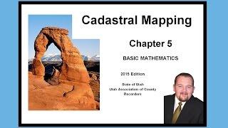 Ch 5 Cadastral Mapping - Basic Math