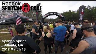 Spartan Sprint: Atlanta, GA, 2017 March 18