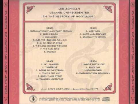 Led Zeppelin - Live from Earl's Court 05/25/1975 [Soundboard]