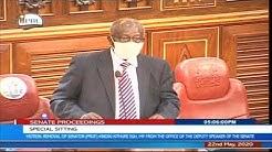 Senator Ongeri - Senate sitting to oust Kindiki