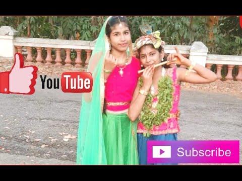 Thulasikathir nulliyeduthu dance performance by Shreya & Anvita / My Little World by Shreya