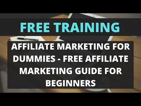 Affiliate Marketing For Dummies   Free Affiliate Marketing Guide For Beginners