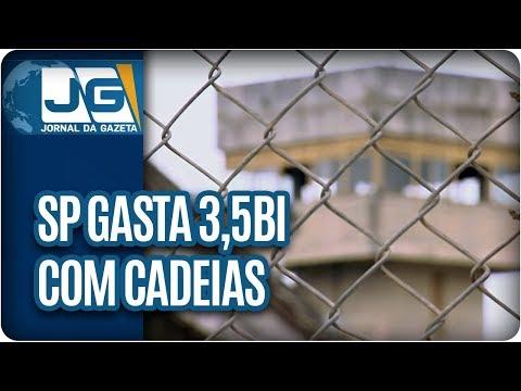 SP gasta R$ 3,5 bi/ano com cadeias