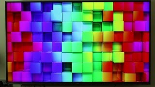 vu iconium 55 inch 4k tv video quality format test