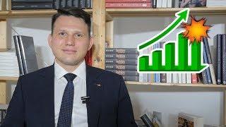 Podnoszeniem PŁACY MINIMALNEJ nie oszukamy rynku! Z Mentzenem o gospodarce #08